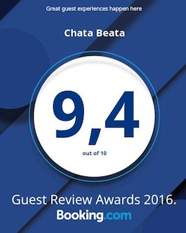 Booking.com Guest Review Awards 9.4