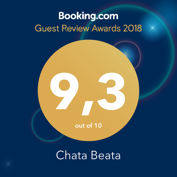 Booking.com Guest Review Awards 9.3