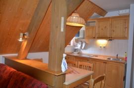 Apartmán č.4 – kuchyňka