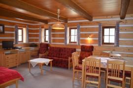 Apartmán č.1 – společenský prostor