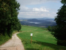 cesta od chaty Hubertus