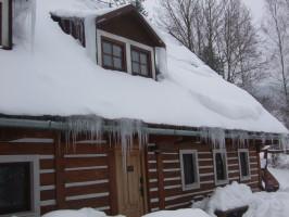 chata zimní