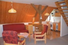apartmán č. 2 obývákové sezení