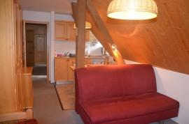 apartmán č. 3 rozkládací postel