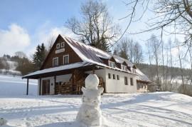 první sněhulák leden 2015