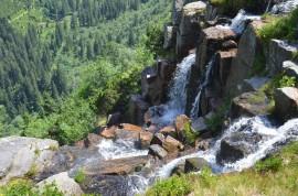 Pančavské vodopády z Ambrožovy vyhlídky