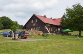 chata Hubertus, asi 5km od chaty – výborná kuchyně