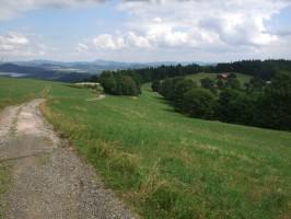 okolí chaty Hubertus